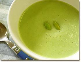 白だしで簡単!夏が旬の枝豆スープ
