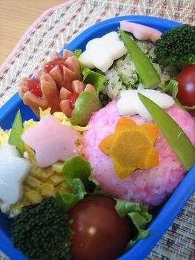 キャラ弁♪ひな祭り(?^^;)弁当♪
