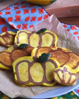 もちっと南瓜パンケーキ