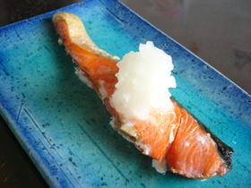大根おろしが美味!甘塩鮭