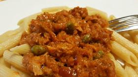 【イタリアの家庭料理】ツナ缶でパスタ!