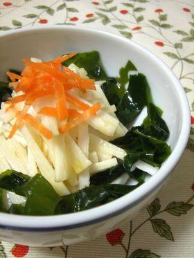 すし酢で簡単!しゃきしゃき山芋サラダ