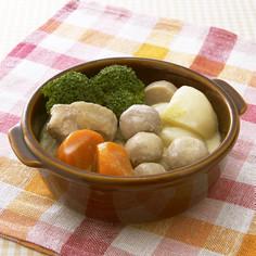 冬野菜と鶏肉の煮込み ミルク仕立て