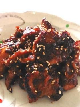甘辛味噌鶏のソテー