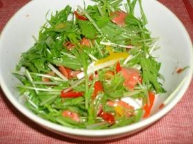 きって混ぜるだけ簡単生野菜サラダ☆