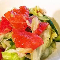 キャベツとトマトの浅漬け風マリネサラダ