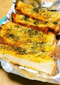 パンの耳。カレーマヨスティックトースト