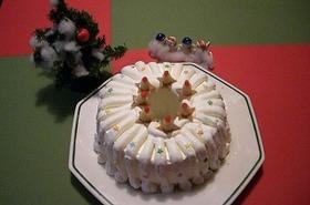 メリークリスマス!スターシフォンケーキ