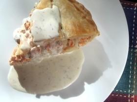 おもてなしの家庭料理◆鮭のクリームパイ