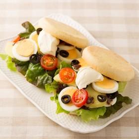 ニースサラダ風サンド