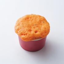 トマト&バジル蒸しパン