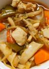 簡単!鶏むね肉とピーマン もやしの甘酢煮