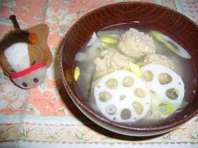 <冷え性の私へ>生姜★だんご汁
