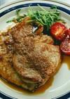 【再利用】豚かつ肉の生姜麹焼き