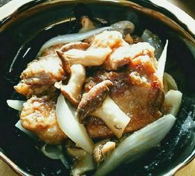 【再利用】余った唐揚げの黒酢炒め