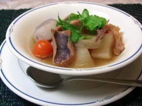 乾物スープで心も体も温まる