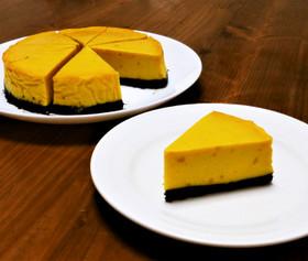 ☆簡単!濃厚かぼちゃのチーズケーキ☆