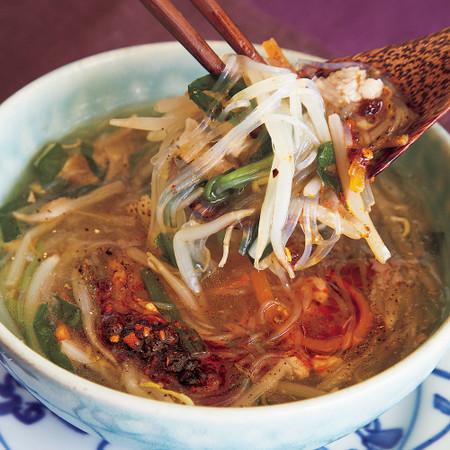 中華風具だくさんとろみスープ