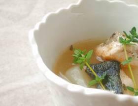 鮭と大根のスープ