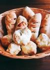 扱いやすい惣菜パン生地