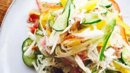 胡瓜とミョウガの夏☆サラダ