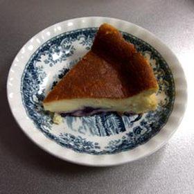 ブルーベリーチーズケーキ♪