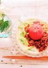 大豆ミートの冷やし坦々麺