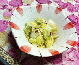 余った白菜で✿3分で簡単❀甘辛黒酢漬け✿