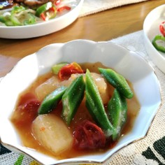 冬瓜のドライトマト煮