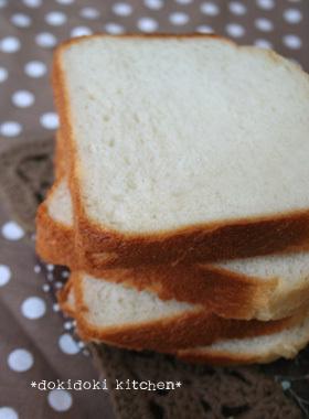 ホシノ天然酵母♡ミルク食パン