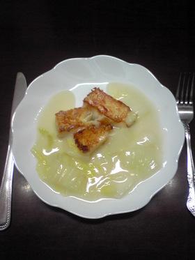 ❤白菜とトロかれいのクリーム煮