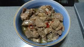 牛の角煮丼