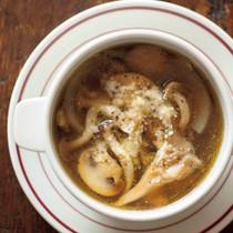 3種のキノコスープ