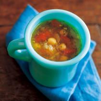 ヒヨコ豆のスープ