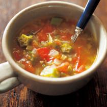 ガンボ風オクラのスープ