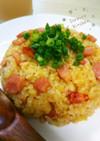 マヨパワー★卵なしで簡単パラパラ炒飯★