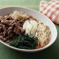牛肉のすき煮