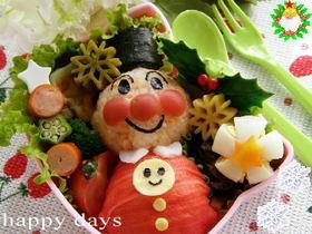 ☆クリスマスカラーの可愛いお弁当おかず☆