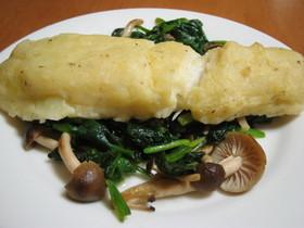 タラのマッシュポテト焼き