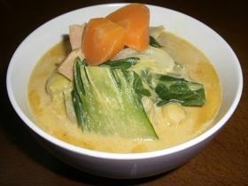 クリーミーなカレースープ
