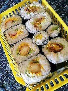 何でも巻き寿司