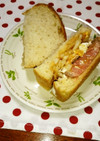 ローストビーフのサンドイッチ