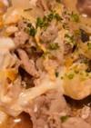 豚肉の卵とじ(他人丼)