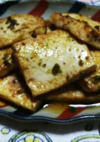 イタリアジェノベーゼの豆腐ステーキ。