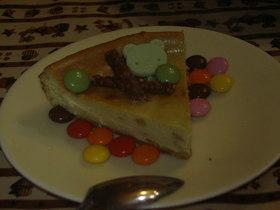 「和」抹茶なチーズケーキ