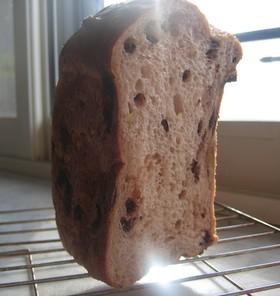 HBで☆ホワイトブラウニー風食パン