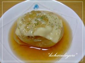 *バーグチーズのとろ~りオニオンスープ*