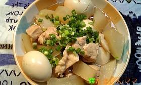 圧力鍋で❤鶏大根のさっぱり煮