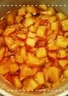 レンジだけで簡単!りんごや梨のコンポート