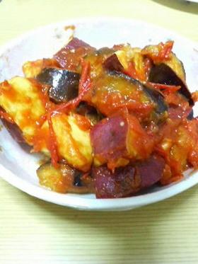 トマト&なすのほっこりさつま芋煮